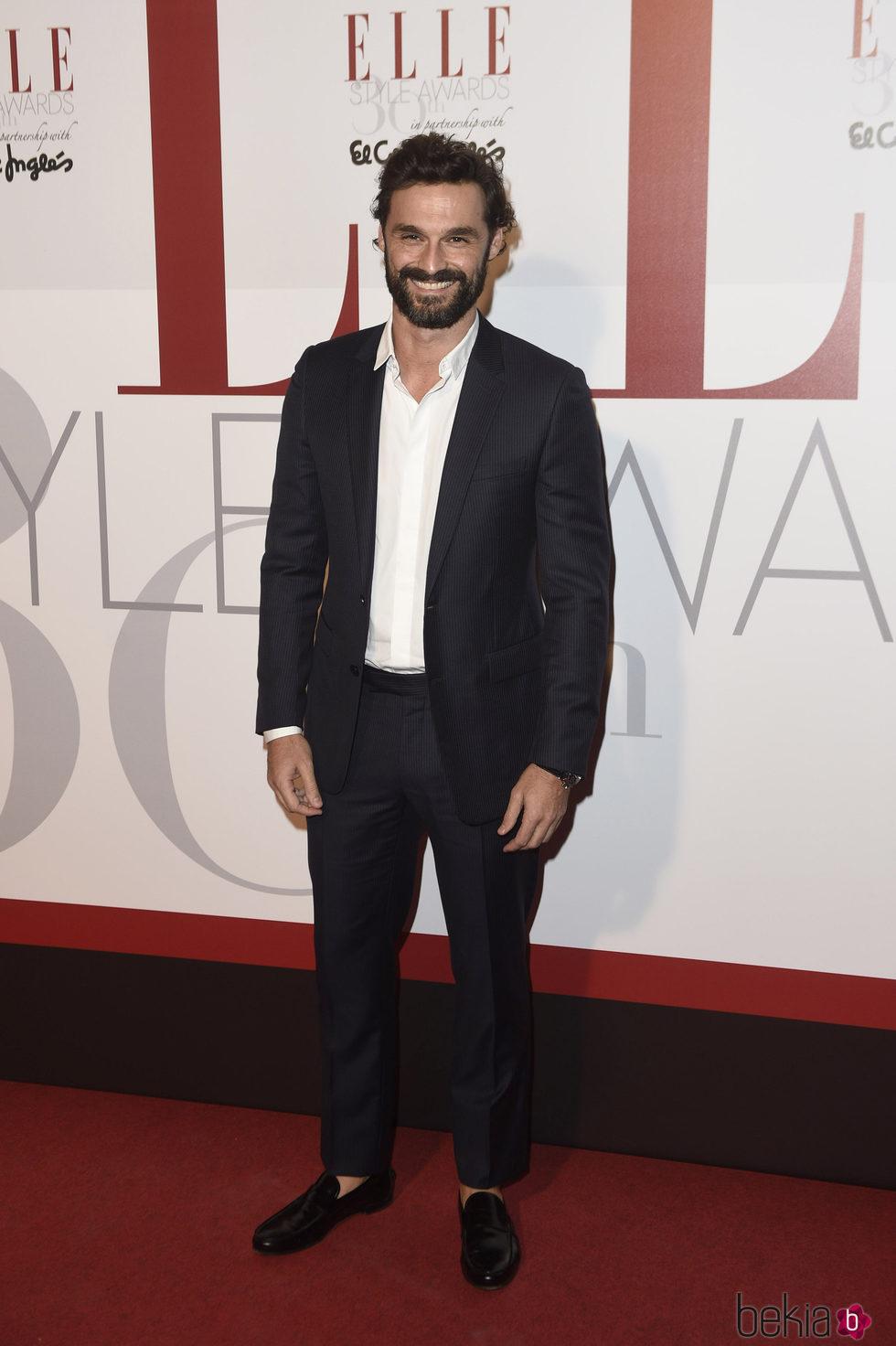 Iván Sánchez en los Elle Style Awards 2016