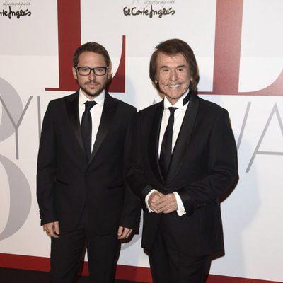Raphael y Manuel Martos en los Elle Style Awards 2016