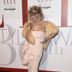 Bibiana Fernández en los Elle Style Awards 2016