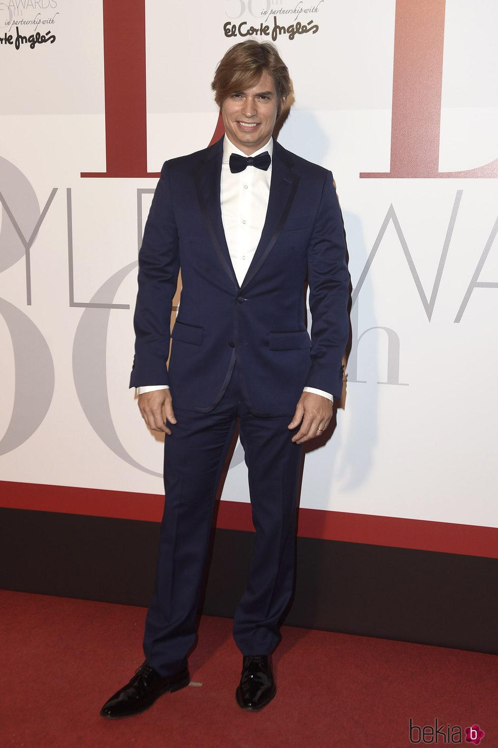 Carlos Baute en los Elle Style Awards 2016