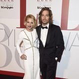 Ana Fernández y Adrián Roma en los Elle Style Awards 2016