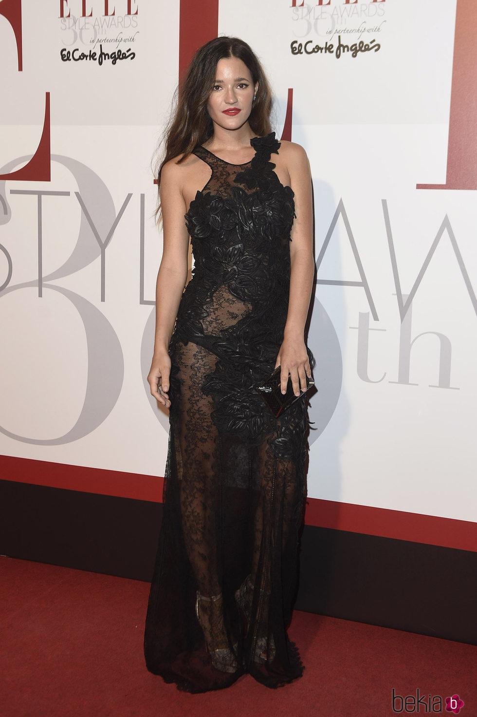 Malena Costa en los Elle Style Awards 2016