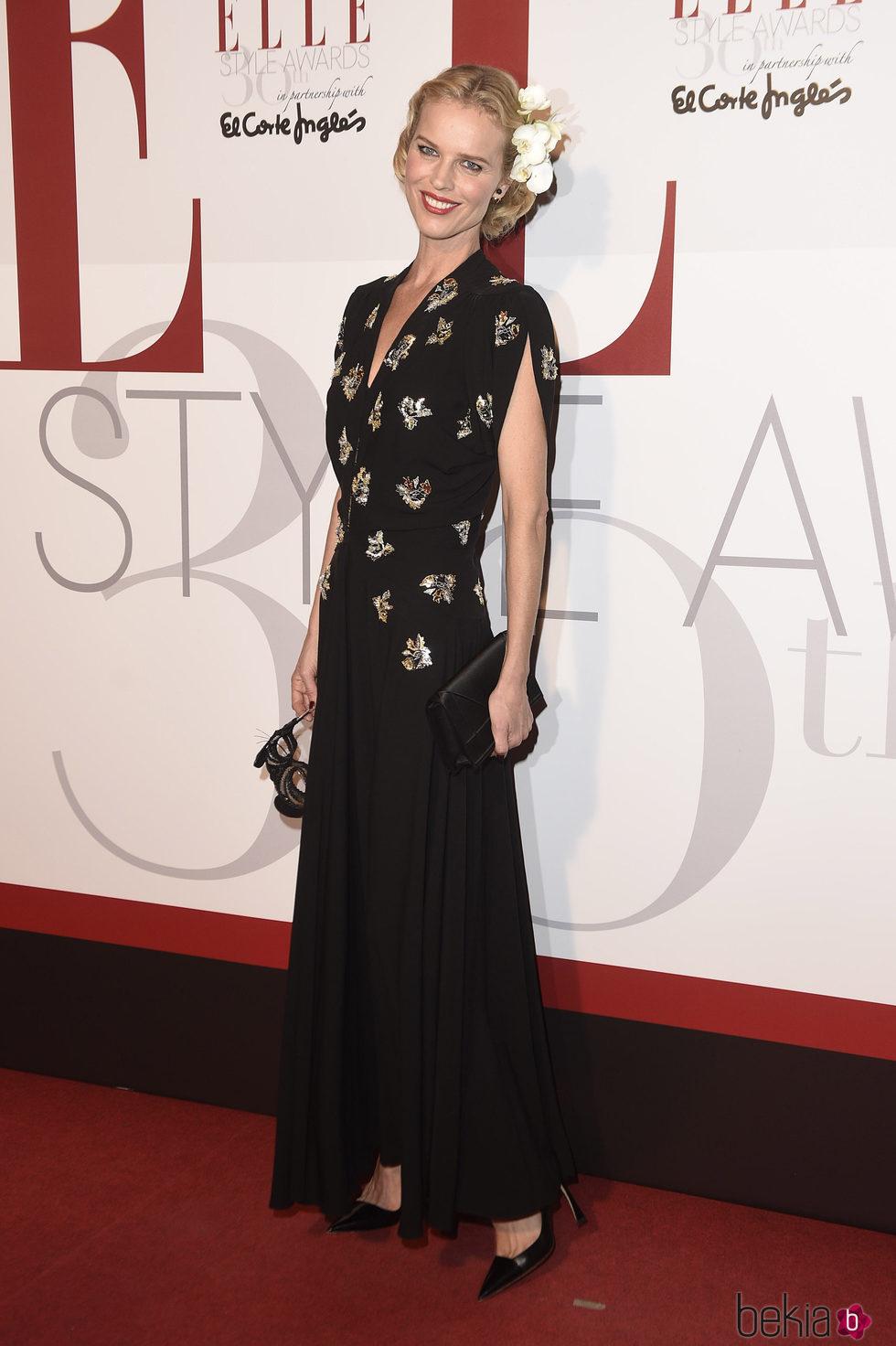 Eva Herzigova en los Elle Style Awards 2016
