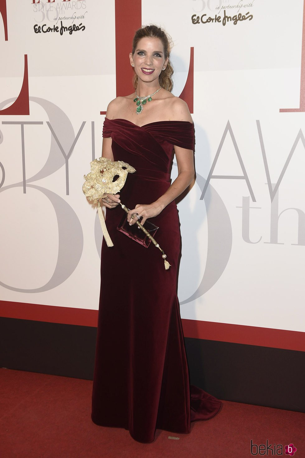 Margarita Vargas en los Elle Style Awards 2016
