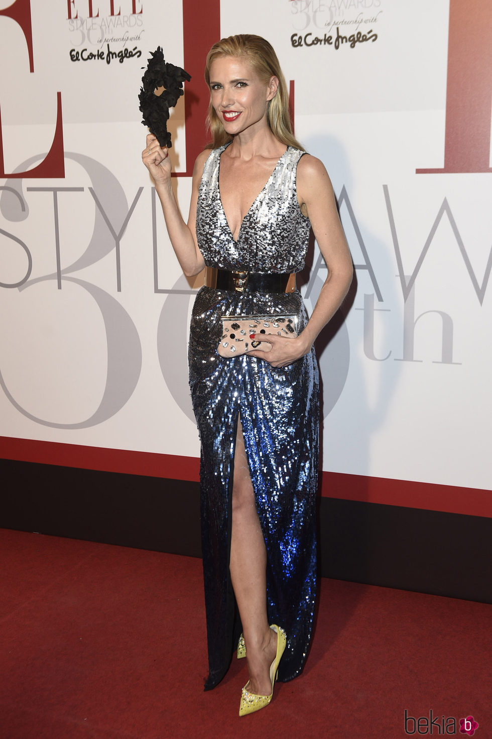 Judit Mascó en los Elle Style Awards 2016