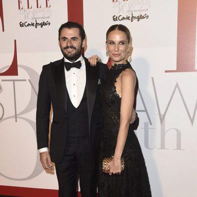 Emiliano Suárez y Carola Baleztena en los Elle Style Awards 2016