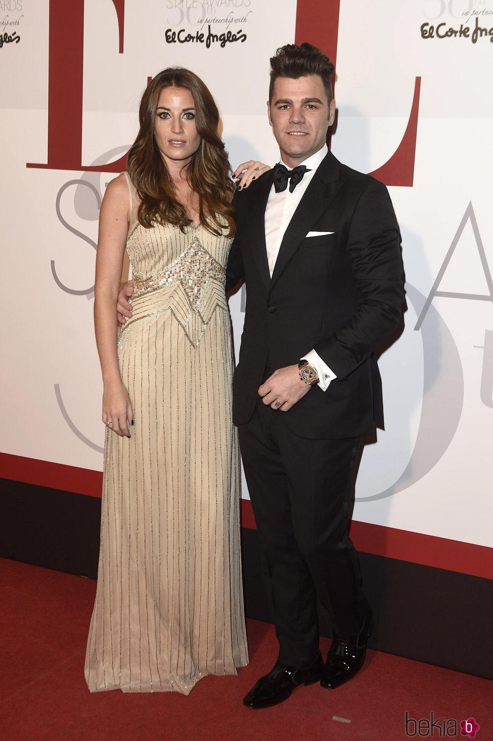 Fonsi Nieto y Marta Castro en los Elle Style Awards 2016
