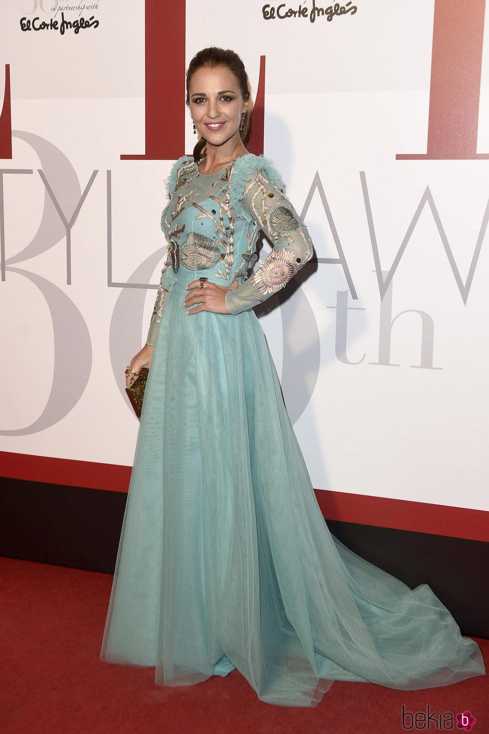 Paula Echevarría en los Elle Style Awards 2016