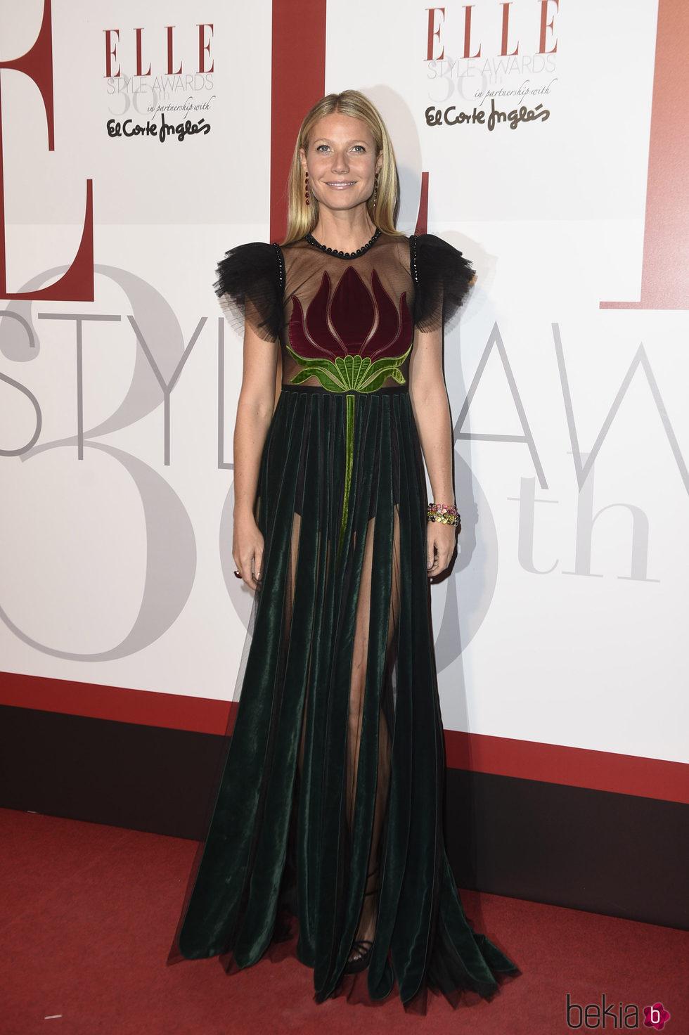 Gwyneth Paltrow en los Elle Style Awards 2016