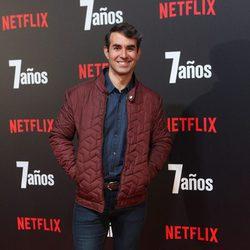 Daniel Muriel en la premiere de '7 años' en Madrid