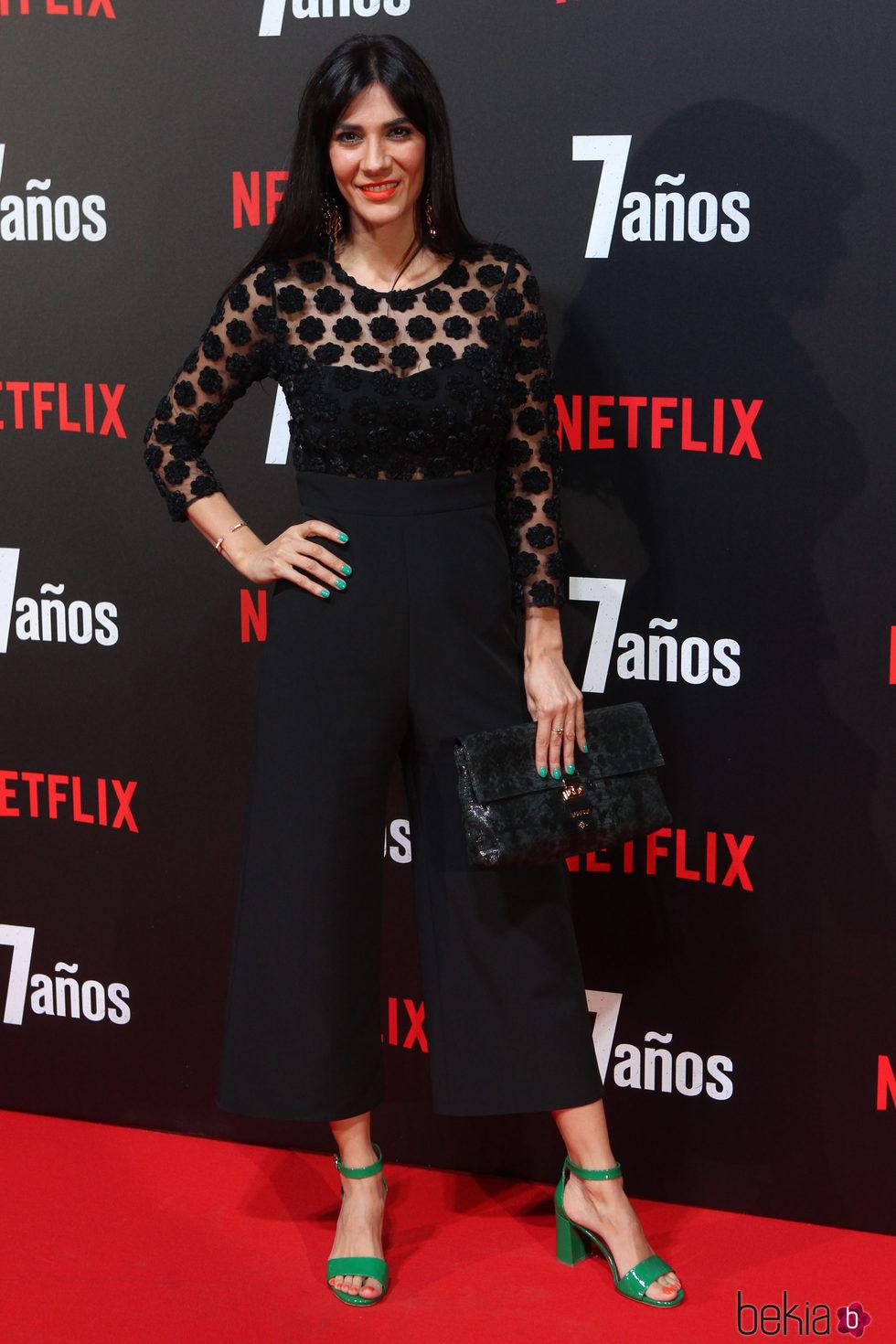 Cecilia Gessa en la premiere de '7 años' en Madrid