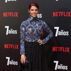 Juana Acosta en la premiere de '7 años' en Madrid
