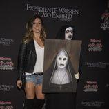 Lorena de 'OT 5' en la presentación de la semana ' Halloween 2016 ' del Parque de Atracciones de Madrid.