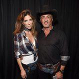 Sylvester Stallone y su mujer eligen un disfraz 'western' para celebrar Halloween 2016