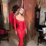 Mariah Carey elige un disfraz de diabla para celebrar Halloween 2016