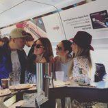 Juan Camus, Geno, Nuria Fergó y Natalia camino a Barcelona para el concierto de 'OT: El Reencuentro'