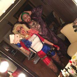 Jenni Farley 'JoWoww' disfrazada de 'Escuadrón Suicida' en Halloween 2016