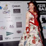Silvia Fominaya en una gala benéfica contra el cáncer infantil en Vigo