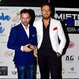 Raúl Prieto y David Valldeperas en una gala benéfica contra el cáncer infantil en Vigo