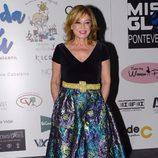 Mila Ximénez durante una gala benéfica contra el cáncer infantil en Vigo