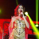 Nuria Fergó en el concierto de 'OT. El reencuentro'