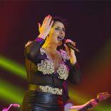 Rosa López en el concierto de 'OT. El reencuentro'