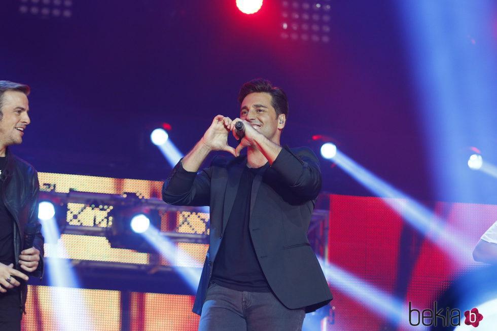 David Bustamante en el concierto de 'OT. El reencuentro'