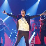 Alejandro Parreño durante el concierto de 'OT. El reencuentro'