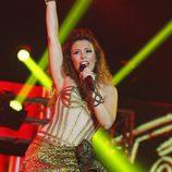 Gisela en el concierto de 'OT. El reencuentro'