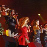 Las chicas en el concierto de 'OT. El reencuentro'