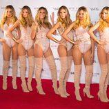 Heidi Klum se multiplica por seis en su fiesta de Halloween