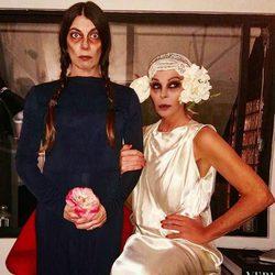 Bibiana Fernández en Halloween