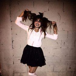 Alejandra González en Halloween