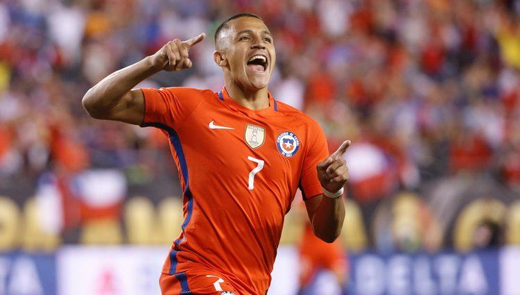 Alexis Sanchez jugador chileno del Arsenal