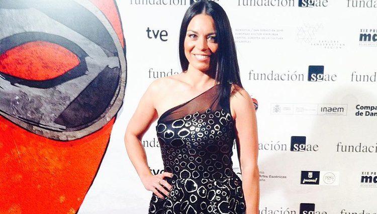 Ainhoa Cantalapiedra en los Premios Max