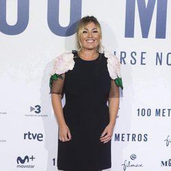 Amaia Montero en el estreno de '100 metros' en Madrid