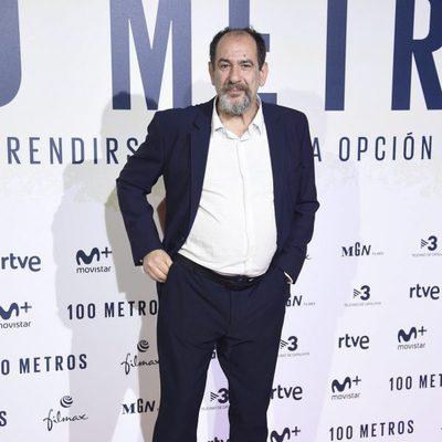 Karra Elejalde en el estreno de '100 metros' en Madrid