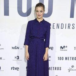 Alba Ribas en el estreno de '100 metros' en Madrid