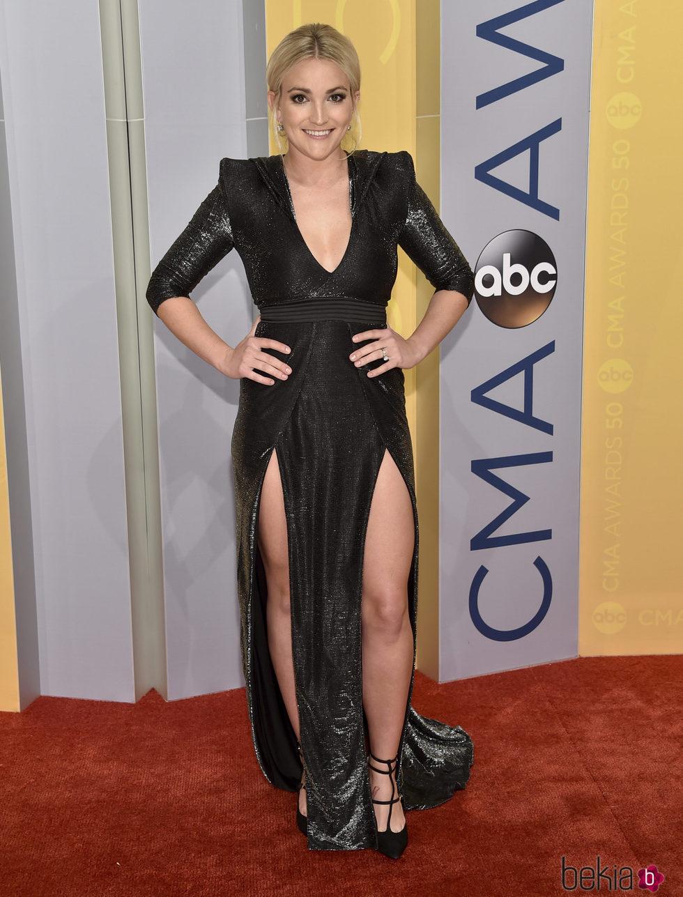 Jamie Lynn Spears en los CMA Awards 2016