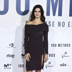 Clara Lago en el estreno de '100 metros' en Madrid