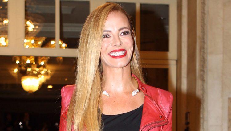 Paula Vázquez en los Premios GQ Hombres del Año 2016