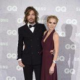 Ana Fernández y Adrián Roma en los Premios GQ Hombres del Año 2016