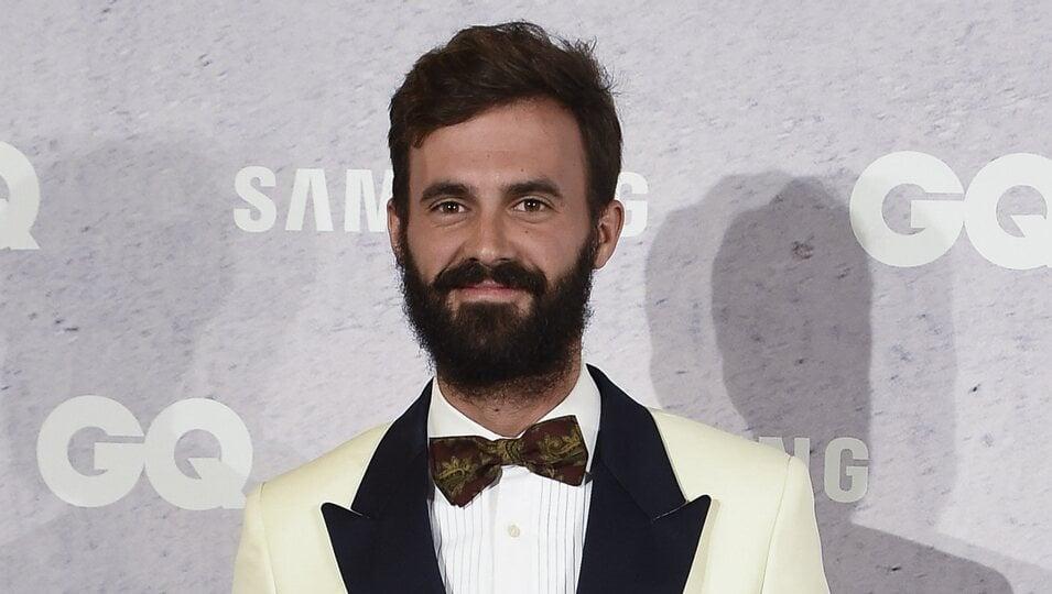 Enrique Solís en los Premios GQ Hombres del Año 2016