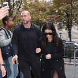 Kim Kardashian y su guardaespaldas