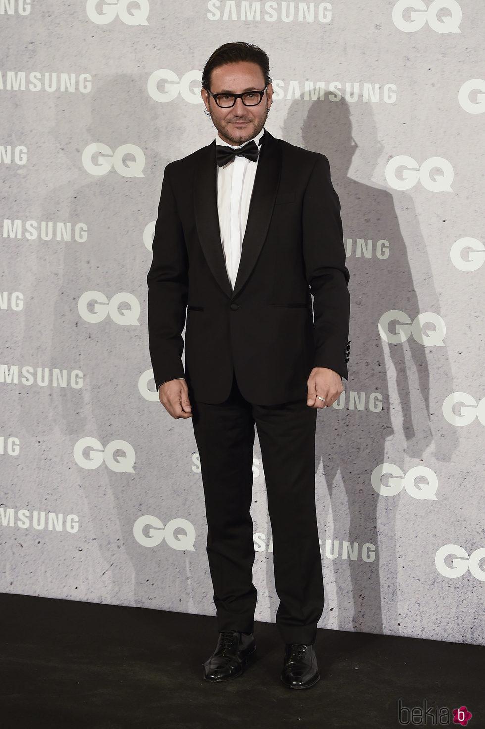 Carlos Santos en los Premios GQ Hombres del Año 2016