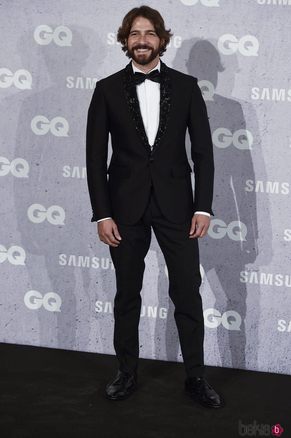Félix Gómez en los Premios GQ Hombres del Año 2016