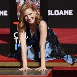 Jessica Chastain homenajeado en el Teatro Chino de Hollywood