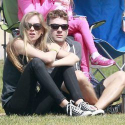 Ryan Phillippe y Paulina Slagter en California