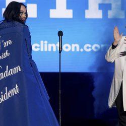 Katy Perry apoyando a Hillary Clinton en la campaña electoral
