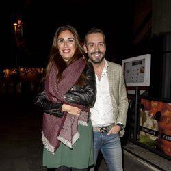Isabel Rábago y Kike Calleja en el cumpleaños de Carmen Borrego, hermana de Terelu Campos